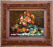 Pictorial Carpet, Carpet, Persian Pictorial Carpet, Iran Pictorial Carpet, Handmade Pictorial Carpet, Iranian Pictorial Carpet